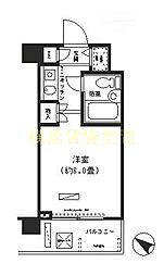 パーク・ノヴァ横浜阪東橋弐番館[6階]の間取り
