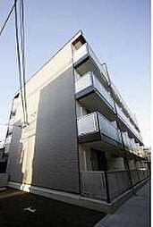 大阪府大阪市生野区中川西2丁目の賃貸アパートの外観