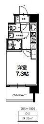 S-RESIDENCE新大阪Ridente[710号室号室]の間取り