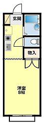 フェニックス248[203号室]の間取り
