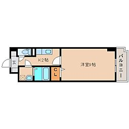 静岡県静岡市清水区船越1丁目の賃貸マンションの間取り