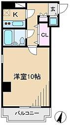 ラミアール佐々木[3階]の間取り