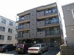 プルミエール東札幌1.6[4階]の外観
