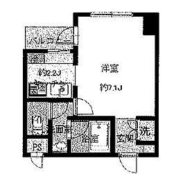 コーポ向島[9階]の間取り
