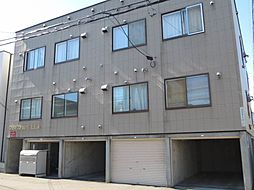 北海道札幌市東区北十五条東3丁目の賃貸アパートの外観