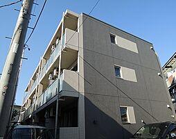 神奈川県川崎市川崎区渡田東町の賃貸マンションの外観