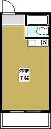 プレアール夕凪(旧シャンブル夕凪)[5階]の間取り