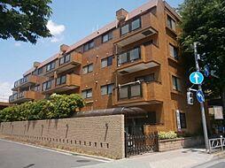 東京都調布市仙川町3の賃貸マンションの外観