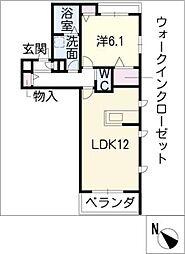 エルク本郷[3階]の間取り