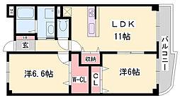 曽根駅 5.4万円