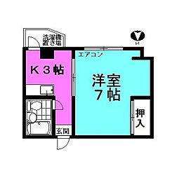 海老原ビル[3階]の間取り