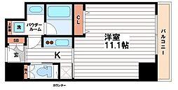 大阪府大阪市中央区平野町3丁目の賃貸マンションの間取り