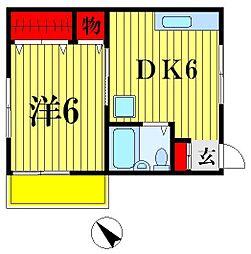 みさき[2階]の間取り
