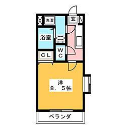 ポジション−1[1階]の間取り