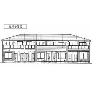 外観,1LDK,面積47.66m2,賃料5.6万円,つくばエクスプレス つくば駅 3.6km,つくばエクスプレス 研究学園駅 6.8km,茨城県つくば市古来