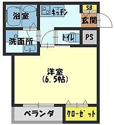 マスタリーコート守口[3階]の間取り