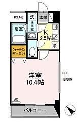 フローラ東戸塚[2階]の間取り
