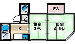 西田辺駅 2.5万円