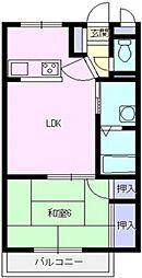 ランドール坂戸[306号室号室]の間取り