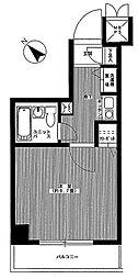 ライオンズプラザ上野毛[3階]の間取り