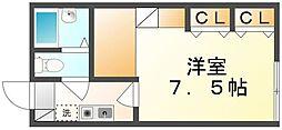 香川県高松市川島東町の賃貸アパートの間取り