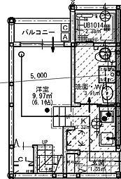 ビエンカーサ[2階]の間取り