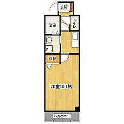 ドムスタレイア[1階]の間取り