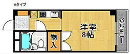 アビヨンKAB1[7階]の間取り