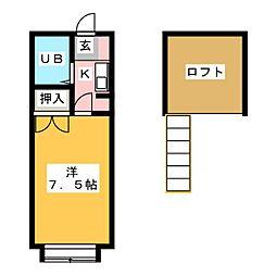 スペース 248[1階]の間取り