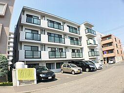 北海道札幌市豊平区平岸二条10丁目の賃貸マンションの外観