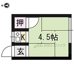 元田中駅 1.5万円