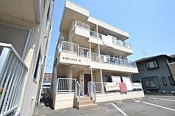 岡山県岡山市北区西長瀬の賃貸マンションの外観