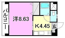 グレース土居田[405 号室号室]の間取り