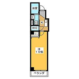 イーダッシュ梅屋町[1階]の間取り