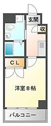 エクセルWAKO[3階]の間取り