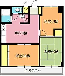 新宏ビル[3階]の間取り