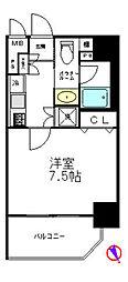 アイコート松が谷[601号室]の間取り