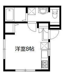 グランハウス成城[102号室]の間取り