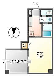 アビタシオン鶴舞[2階]の間取り