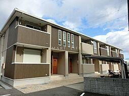 滋賀県大津市坂本3丁目の賃貸アパートの外観