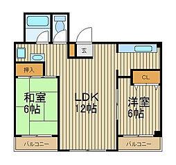 ML21[4階]の間取り
