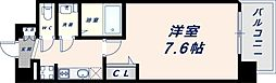Osaka Metro中央線 緑橋駅 徒歩6分の賃貸マンション 3階1Kの間取り