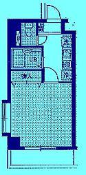 ベルデュール宮前平[3階]の間取り