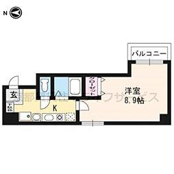 CAプレザントヒル[8階]の間取り