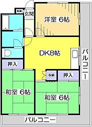 西国分寺山本ビルディング[1階]の間取り