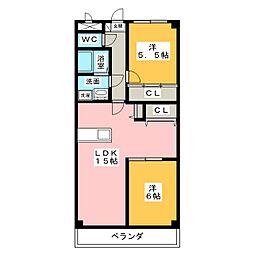 シェレンバウム[3階]の間取り