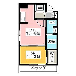 KDX千早レジデンス[9階]の間取り