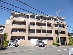 大阪府羽曳野市軽里1丁目の賃貸マンションの外観