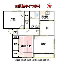 中野ハイツB[2階]の間取り