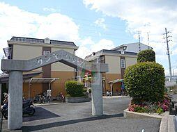 大阪府高槻市西真上2丁目の賃貸アパートの外観